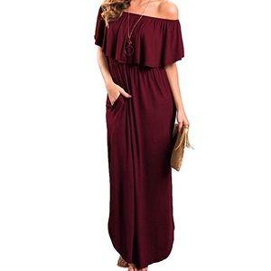 Dresses & Skirts - off the shoulder dress nwot